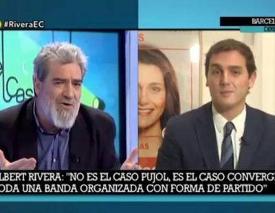 Gran bronca entre Albert Rivera y Miguel Ángel Rodríguez en 'El cascabel'