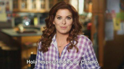 Debra Messing invita a los espectadores a seguir 'The Mysteries of Laura' en Cosmo