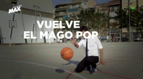 Ricky Rubio, nuevo invitado de Antonio Díaz en la próxima entrega de 'El mago Pop: 48 horas con'