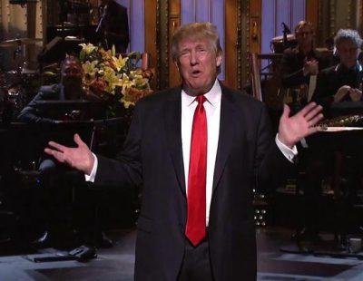 Así fue el monólogo de Donald Trump en 'Saturday Night Live'