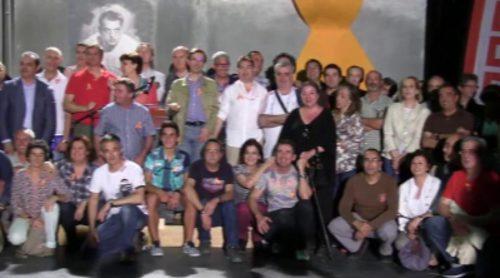 Homenaje reivindicativo de CCOO-RTVE a los Estudios Buñuel que este sábado pasan a manos de la constructora Pryconsa