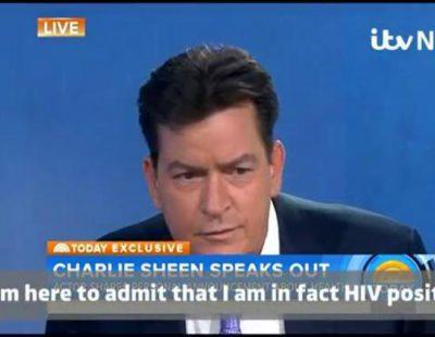 Charlie Sheen admite en directo ser VIH positivo