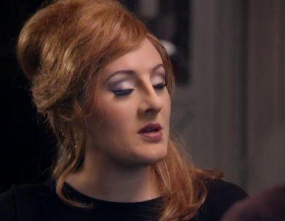 Adele se disfraza para presentarse a un concurso de imitadores de la cantante