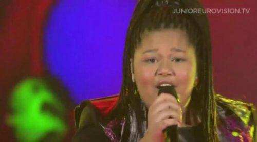 Destiny Chukunyere, representante de Malta, ganadora de Eurovisión Junior 2015
