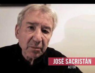 """José Sacristán: """"Dejad trabajar en libertad a los profesionales de RTVE"""""""